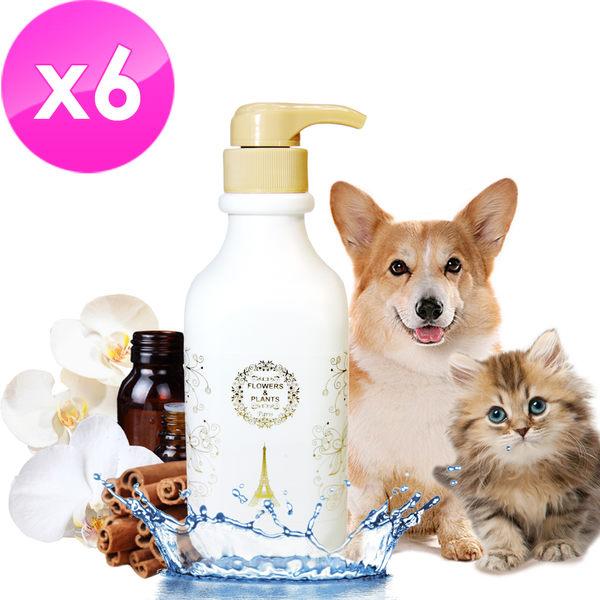 【愛戀花草】 白檀香精油 護色瑩彩寵物沐浴乳《1000ML/六瓶組》