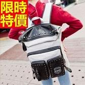 後背包-時尚雙肩多用途大容量男女帆布包5色59d13【巴黎精品】