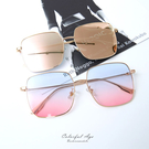 小清新細方框金屬太陽眼鏡【NY420】
