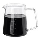 金時代書香咖啡 Tiamo 耐熱玻璃咖啡下壺 600ml HG2187