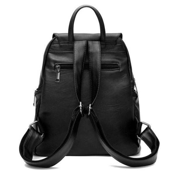新品潮女士後背包正韓個性百搭書包背包時尚簡約pu媽咪包包夏