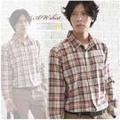 【大盤大】(S31512)男 100%純棉 長袖襯衫 格子棉T 休閒襯衫 父親節 生日送禮【L和XL號斷貨】