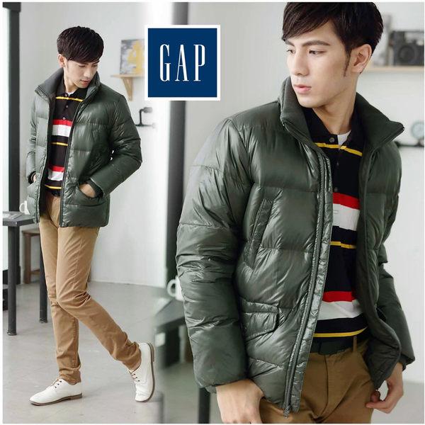 【大盤大】GAP 棉外套 M號 冬外套 拉鍊外套 立領外套 專櫃 防風外套 戶外 風衣外套 交換禮物 特賣