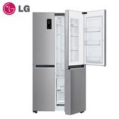 [LG 樂金]821公升WiFi門中門對開冰箱/星辰銀 GR-DL88SV