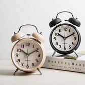 鬧鐘創意小鐘表學生簡約可愛時鐘靜音床頭台鐘兒童迷你臥室數字鐘10款可選【萬聖節88折
