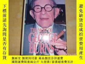 二手書博民逛書店The罕見Most of George Burns【喬治·伯恩斯