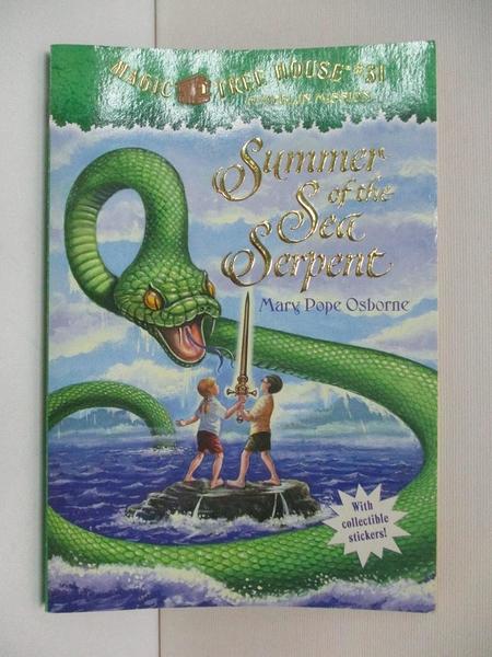 【書寶二手書T1/原文小說_ASQ】Summer of the Sea Serpent_Osborne