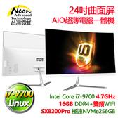 台灣霓虹AIO24-I79700(i7-9700/16G/256GB/Linux) 現貨