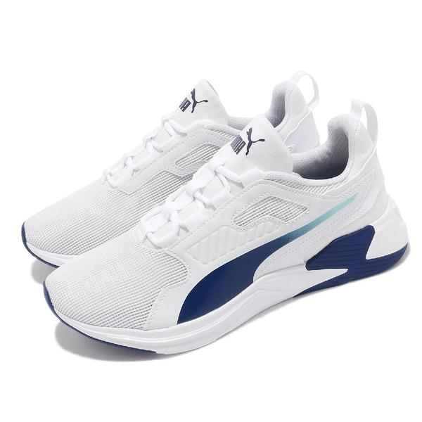 Puma 訓練鞋 Disperse XT 白 藍 健身 男鞋 舒適 透氣 穩定 運動鞋 【ACS】 19372813