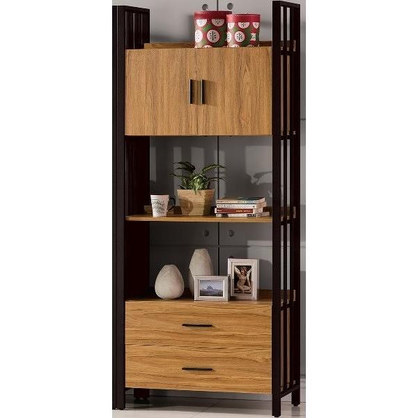 櫥櫃 餐櫃 QW-539-4 鋼克里3X7尺下抽書櫃【大眾家居舘】