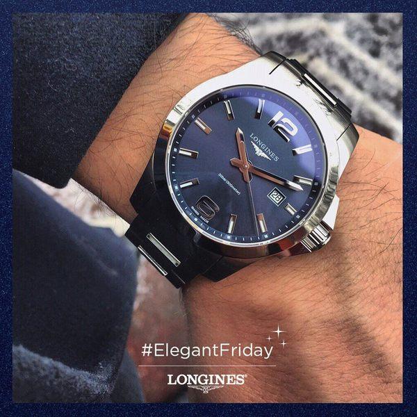 LONGINES深海征服者系列 L37594966藍面 41mm