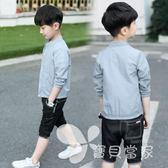 童裝男童夏裝季防曬衣兒童中大童小童超外套韓版透氣薄2018新款潮
