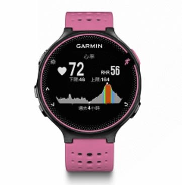 [富廉網] 【GARMIN】 Forerunner 235 手腕式心率跑錶 藍/橘/粉 產品料號 010-03717