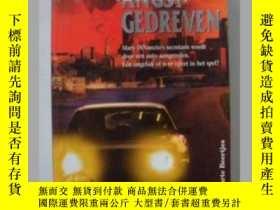 二手書博民逛書店原版荷蘭語小說Door罕見angst gedrevenY1406
