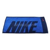 Nike 毛巾 Jacquard Towel 深 藍 海軍藍 純棉 運動 毛巾【PUMP306】 NTT8144-4MD