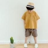 男童夏裝2019新款套裝短袖棉麻寶寶韓版夏季童裝兒童休閒兩件套潮