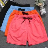 休閒短褲男士寬鬆五分沙灘褲潮流運動男褲子  凱斯盾數位3C