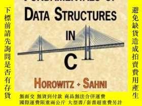 二手書博民逛書店Fundamentals罕見Of Data Structures In CY364682 Ellis Horo