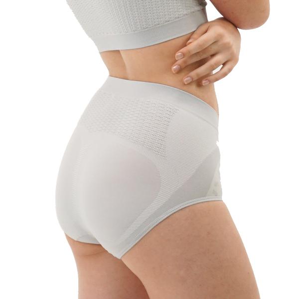 京美銀纖維鍺紗提臀褲4件組-三角【舒服能】