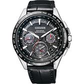 金城武廣告款 CITIZEN Eco-Drive 鈦 光動能GPS衛星對時錶-黑/43mm CC9015-03E