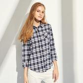 CACO-經典復古格襯衫(兩色)-女【RAR035】