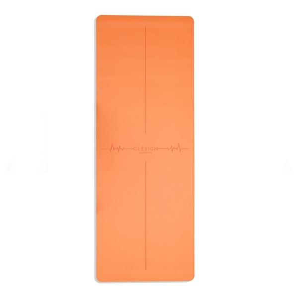 Clesign 瑜珈墊 心動系列瑜珈墊 - 熱帶橘 - 1.2mm