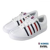 K-swiss 白色 皮質 防水 休閒運動鞋 女款 NO.J0402【新竹皇家 96782-113】
