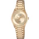 CITIZEN星辰 LADY'S時尚簡約石英腕錶 ER0205-80X