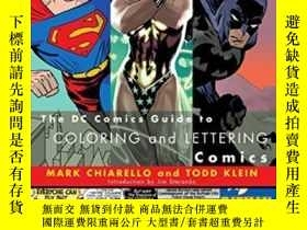 二手書博民逛書店The罕見Dc Comics Guide To Coloring And Lettering ComicsY3