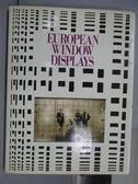 【書寶二手書T9/設計_QMX】European Window Displays_英日文