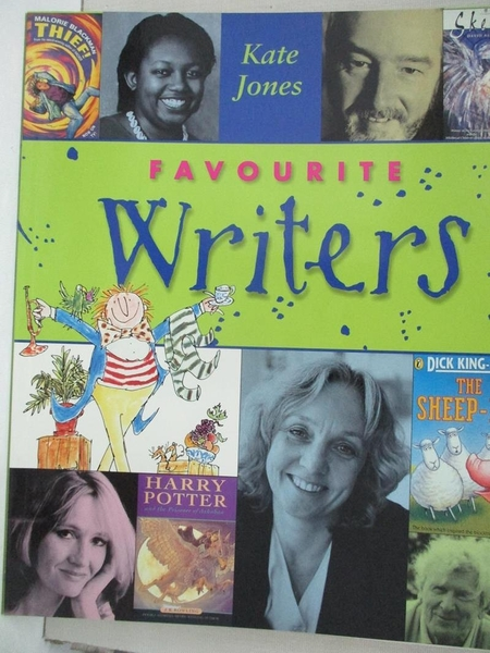 【書寶二手書T1/兒童文學_EOD】Favourite Writers_Kate Jones, Sarah Doughty