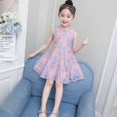 女童連身裙夏裝2018新款超洋氣兒童公主裙韓版夏季5歲6小女孩裙子   LannaS