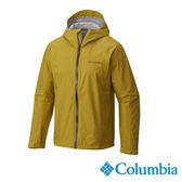 Columbia 男 OT快排2.5L單件防水外套-芥末黃 【GO WILD】