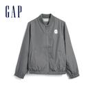 Gap男童 帥氣純沙拉鍊棒球外套 555...