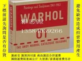 二手書博民逛書店【罕見】Andy Warhol Catalogue Raison