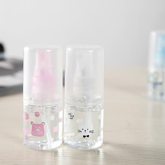 ♚MY COLOR♚圖案印花噴霧瓶 化妝水 保養品 旅行 戶外 美容 便攜 隨身 保濕 透明 肌膚【L28-1】