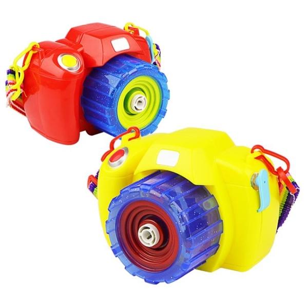 泡泡機吹泡泡機神器全自動照相機兒童電動泡泡槍不漏水補充液泡泡棒玩具  伊蘿