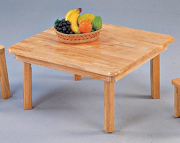 【森可家居】3尺折腳和室桌 7JX280-20 木紋質感 矮桌 邊桌