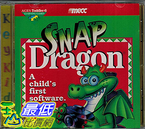 [106美國暢銷兒童軟體] Snap Dragon a Childs First Software  Cd-rom Dos