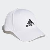 Adidas 男女款白色LOGO棒球帽-NO.FK0890