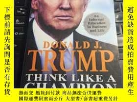 二手書博民逛書店Think罕見Like a Champion:An Informal Education In Business