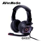 AVerMedia 圓剛 GH337 雷神戰錘 7.1專業電競耳機 黑色