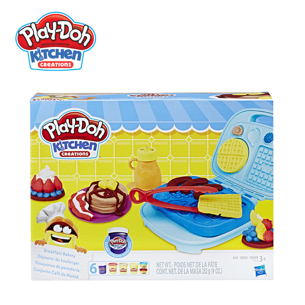 Play-Doh培樂多-廚房系列-鬆餅早餐組