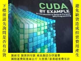 二手書博民逛書店CUDA罕見by Example:An Introduction