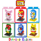 LOZ 迷你鑽石小積木 KITTY 變裝派對II 樂高式 組合玩具 益智玩具 原廠正版