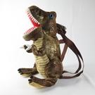 日本代購 恐龍後背包 交換禮物 兒童用 496217 咖啡色 35 X 30cm【iSport代購】