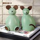 雙十一促銷存錢筒橡樹莊園北歐現代卡通貓咪創意存錢罐擺件家居兒童房個性裝飾品