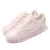 【海外限定】 Reebok 休閒鞋 CL LTHR 粉紅 皮革 復刻 女鞋 百搭款 【ACS】 CN5467