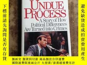 二手書博民逛書店abrams罕見undue process a story of