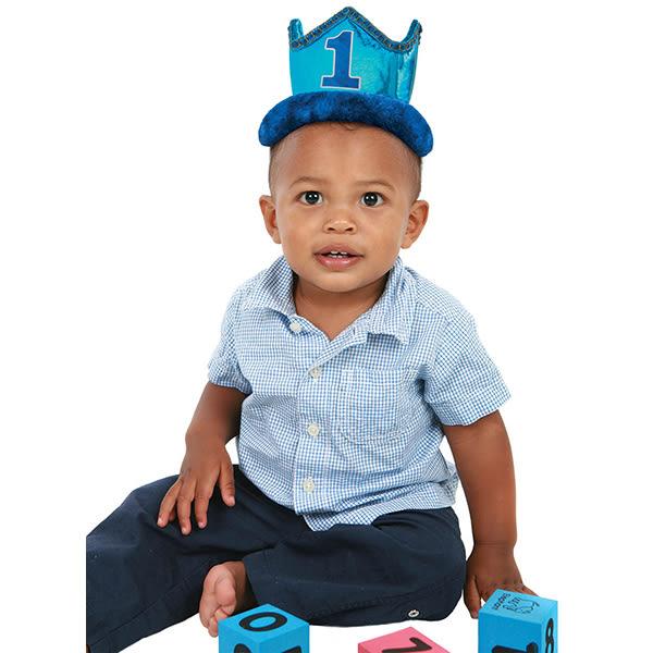 國王皇冠-1歲男孩